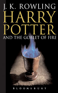 обложка книги Harry Potter and the Goblet of Fire