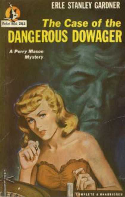 обложка книги The Case of the Dangerous Dowager