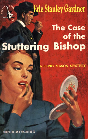 обложка книги The Case of the Stuttering Bishop