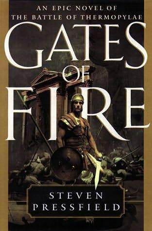 обложка книги Gates of Fire: An Epic Novel of the Battle of Thermopylae