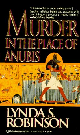обложка книги Murder in the Place of Anubis