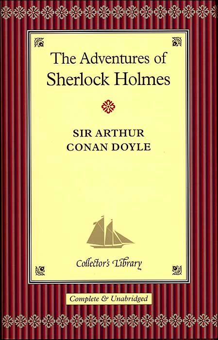 обложка книги The Adventures of Sherlock Holmes