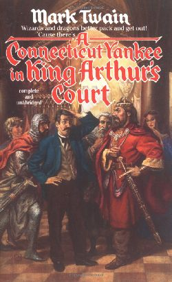 обложка книги A Connecticut Yankee in King Arthur's Court
