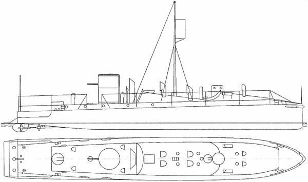Изображение к книге Австро-венгерская Дунайская флотилия в мировую войну 1914 – 1918 гг.
