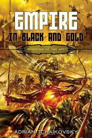обложка книги Empire in Black and Gold
