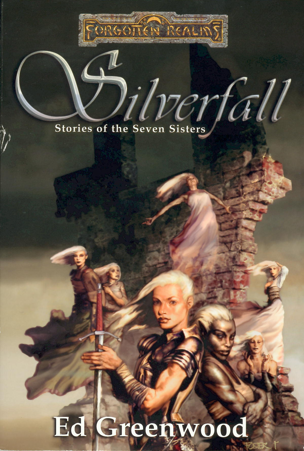 обложка книги Silverfall: Stories of the Seven Sisters