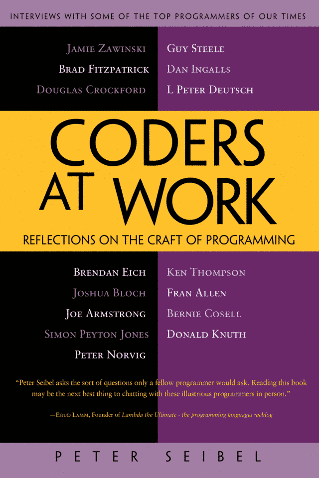 обложка книги Coders at Work: Reflections on the craft of programming