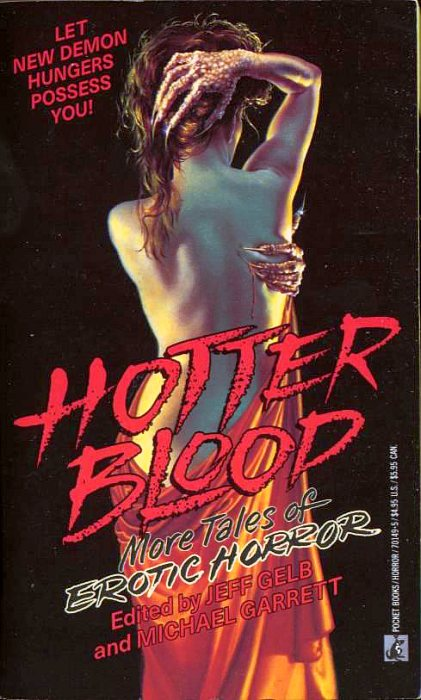 обложка книги Hotter Blood: More Tales of Erotic Horror