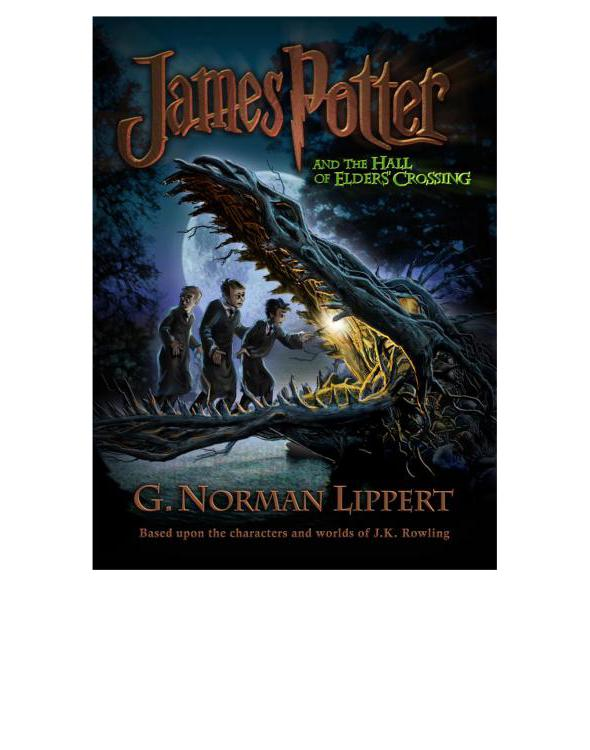 обложка книги James Potter and the Hall of the Elders' Crossing