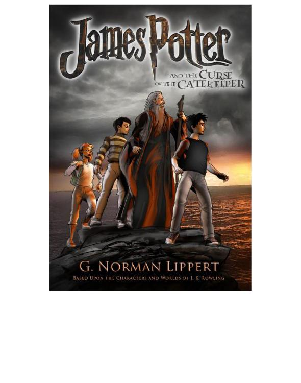 обложка книги James Potter and the Curse of the Gatekeeper