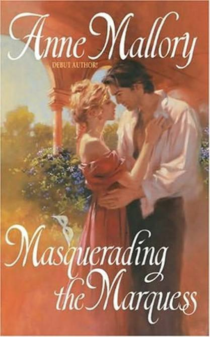 обложка книги Masquerading The Marquess