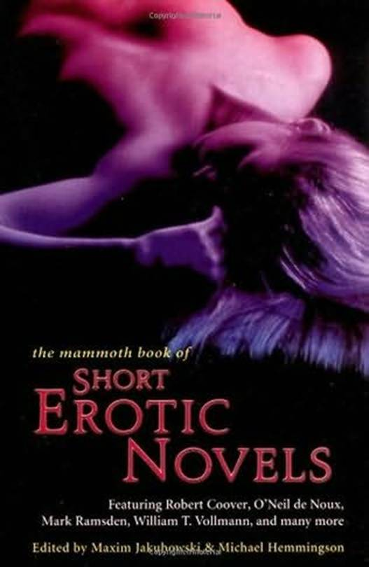 обложка книги The Mammoth Book of Short Erotic Novels