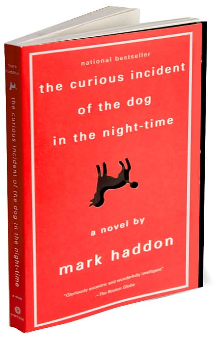 обложка книги The Curious Incident of the Dog in the Night-Time
