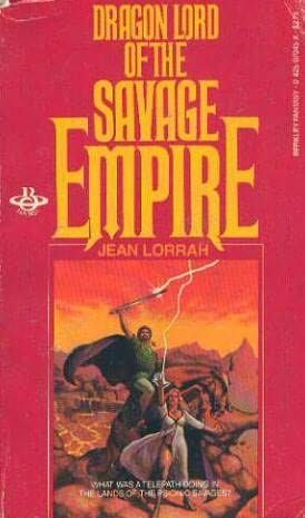 обложка книги Dragonlord of the Savage Empire