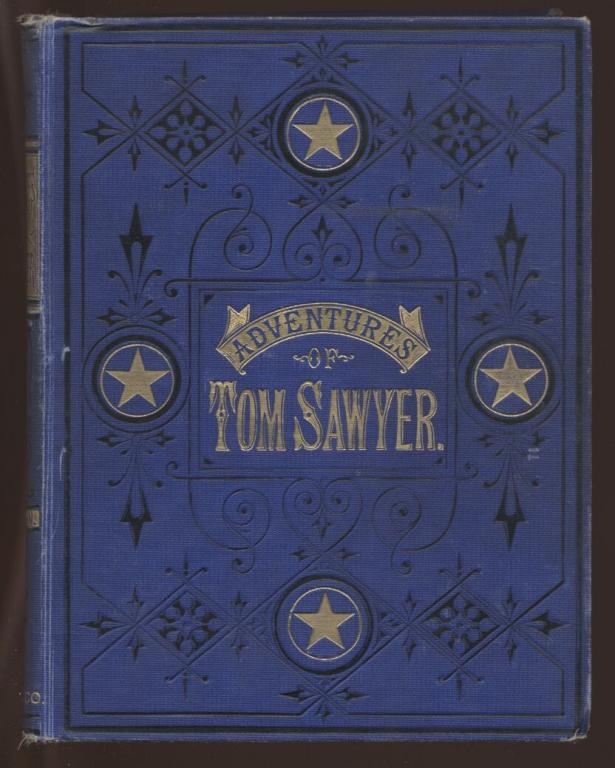 обложка книги The Adventures of Tom Sawyer