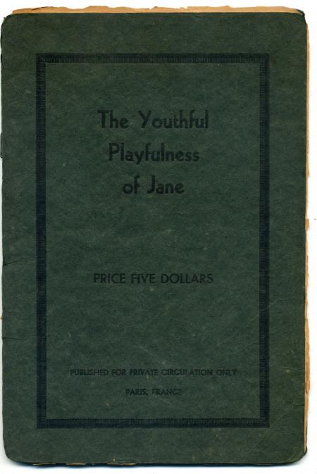 обложка книги The youthful playfulness of Jane