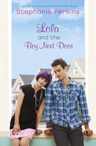обложка книги Lola and the Boy Next Door
