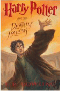 обложка книги Harry Potter and the Deathly Hallows