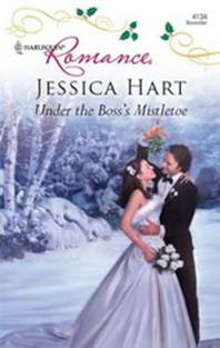 обложка книги Under the Boss's Mistletoe