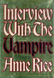 обложка книги Interview with the Vampire