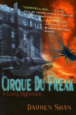 обложка книги Cirque Du Freak [A Living Nightmare]