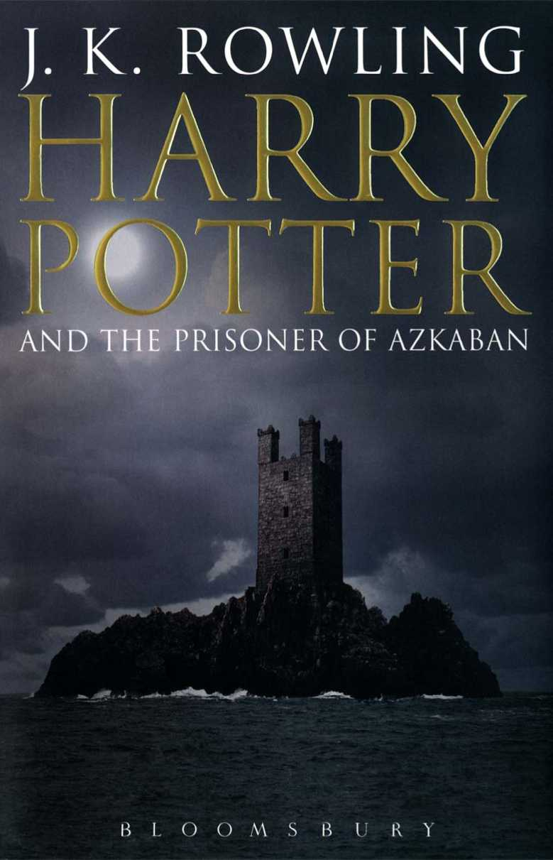 обложка книги Harry Potter and the Prisoner of Azkaban