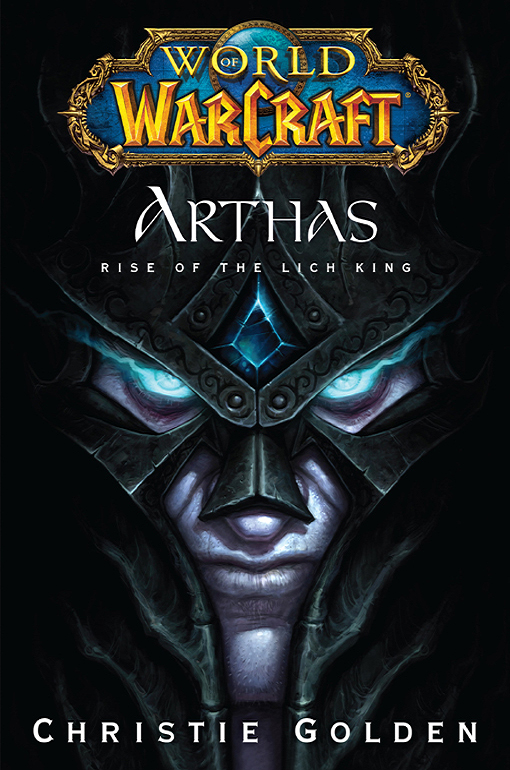 обложка книги Arthas: Rise of the Lich King