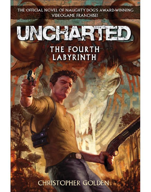 обложка книги Uncharted: The Fourth Labyrinth