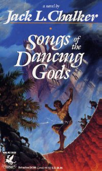 обложка книги Songs of the Dancing Gods