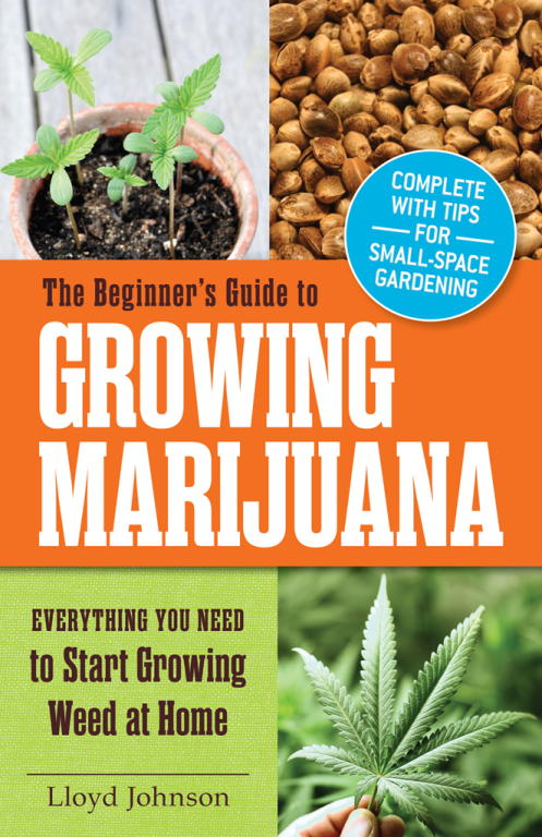 обложка книги The Beginner's Guide to Growing Marijuana