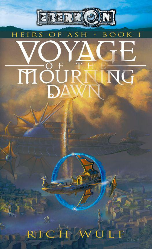 обложка книги Voyage of the Mourning Dawn