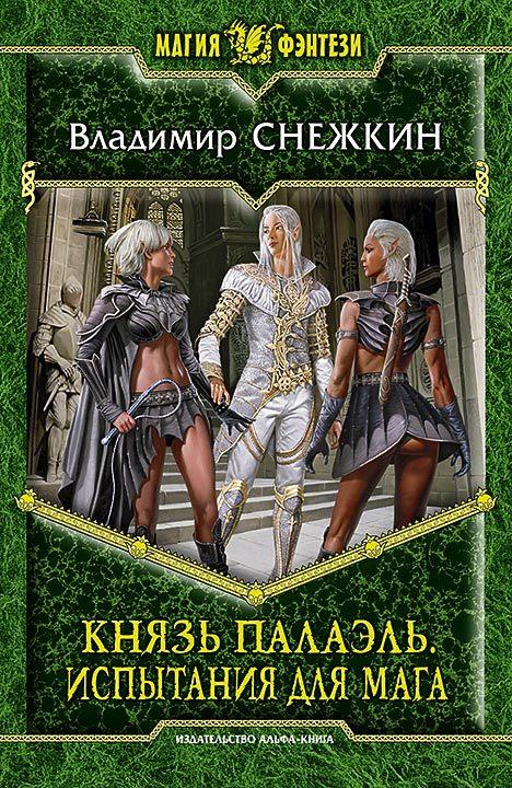 обложка книги Князь Палаэль. Испытания интересах мага
