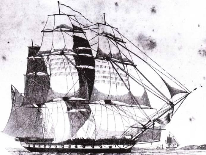 Изображение к книге Американские фрегаты 1794 – 1826