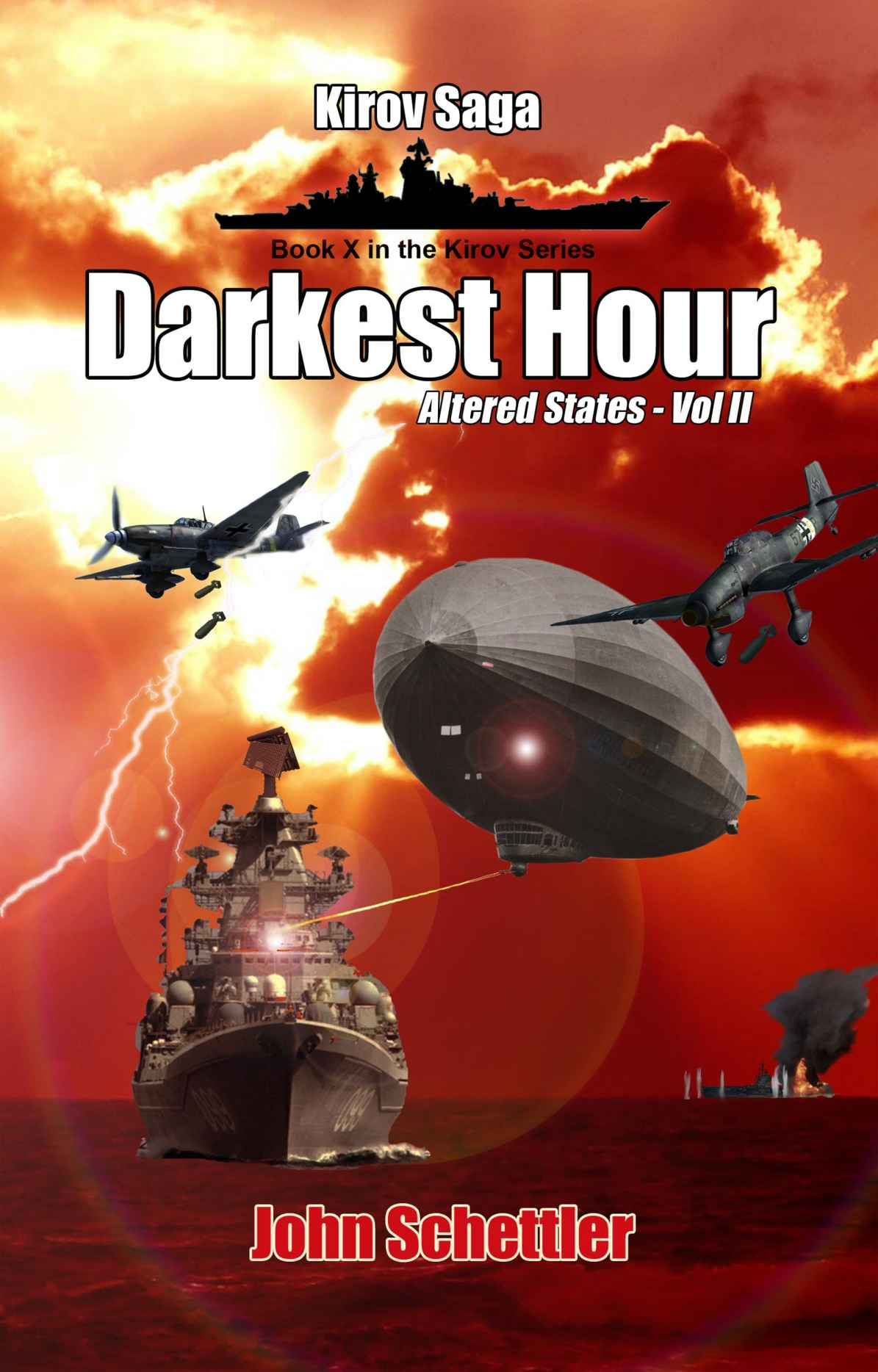 обложка книги Altered States – Volume II. Darkest Hour