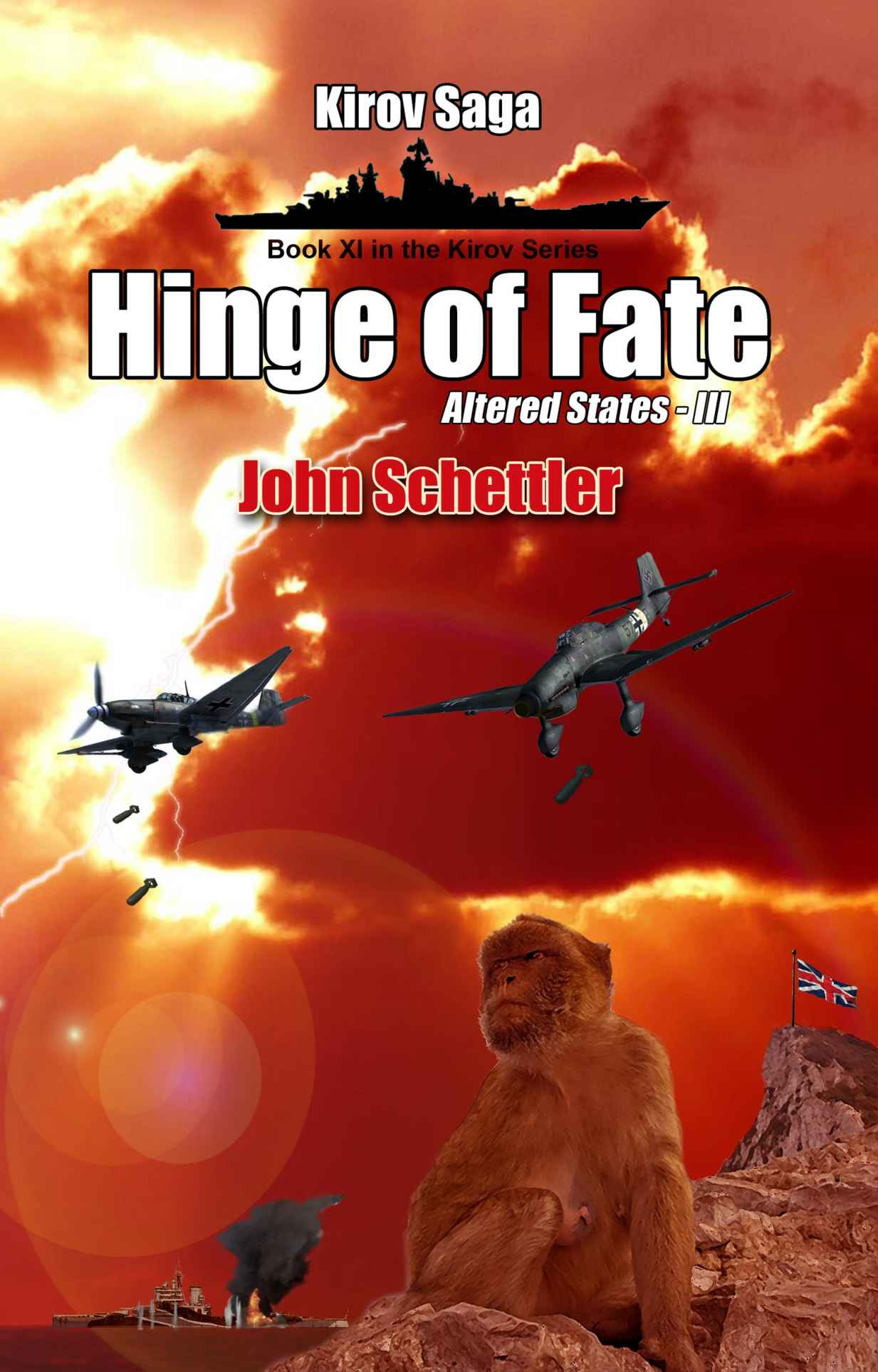 обложка книги Altered States -Volume III. Hinge of Fate