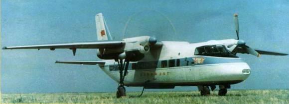 Первый опытный экземпляр Бе-30