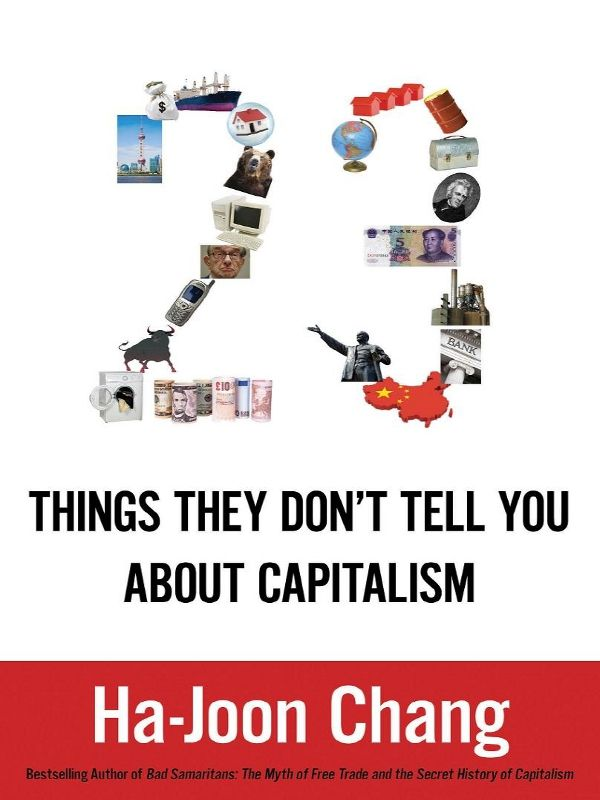 обложка книги 23 Things They Don't Tell You about Capitalism