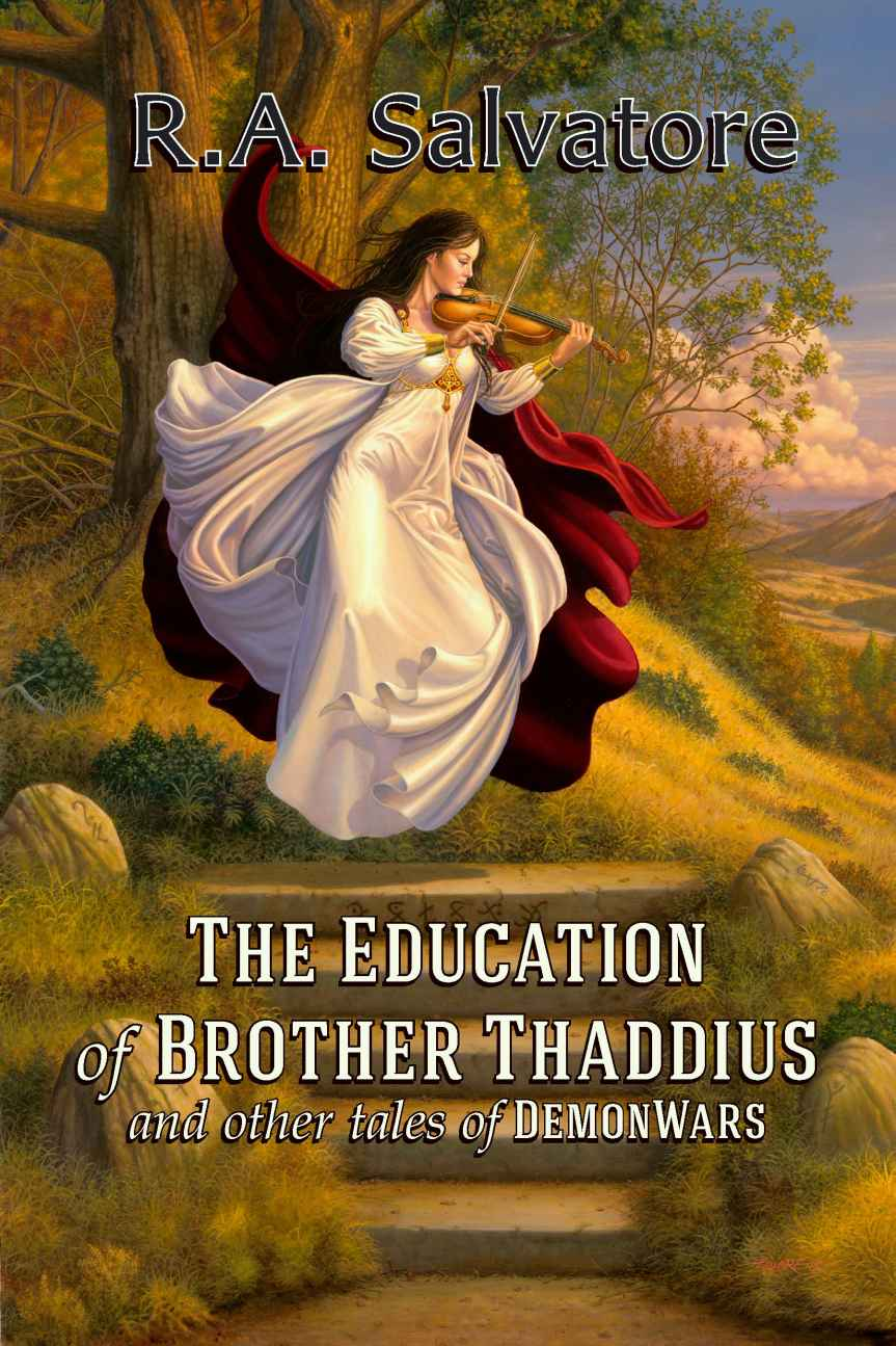 обложка книги The Education of Brother Thaddius and other tales of DemonWars