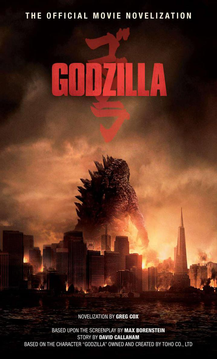 обложка книги Godzilla: The Official Movie Novelization
