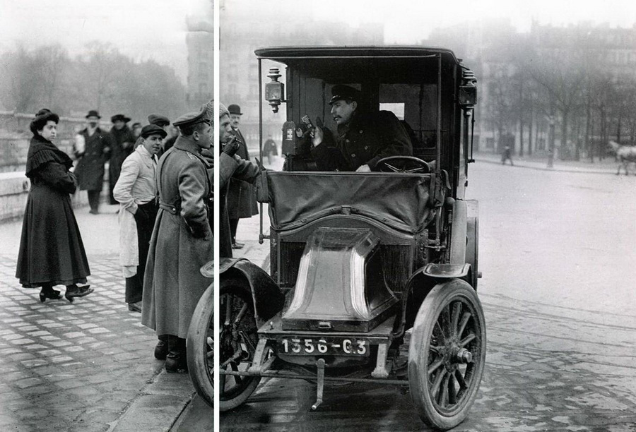 Изображение к книге Автомобиль на службе, 2011 №09 ГАЗ-3110 «ВОЛГА» такси