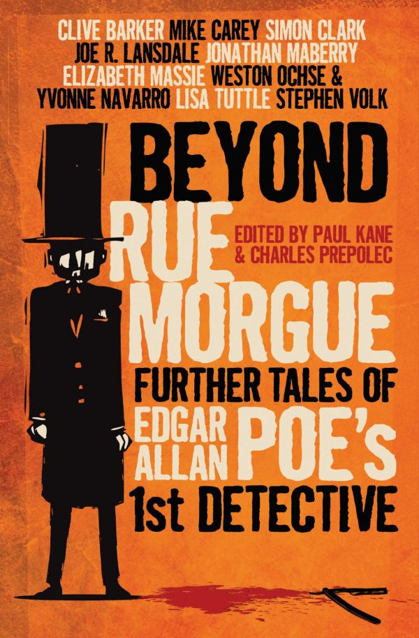 обложка книги Beyond Rue Morgue Anthology: Further Tales of Edgar Allan Poe's 1st Detective