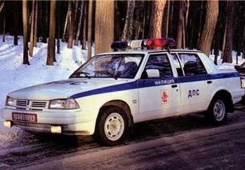 Изображение к книге Автомобиль на службе, 2011 № 10 ВАЗ-2112 ДПС