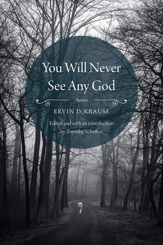 обложка книги You Will Never See Any God: Stories