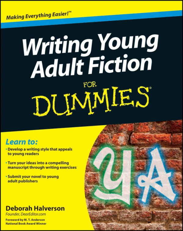 обложка книги Writing Young Adult Fiction For Dummies