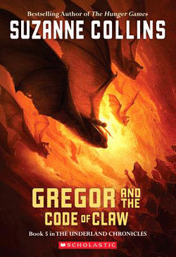 обложка книги Gregor and the Code of Claw