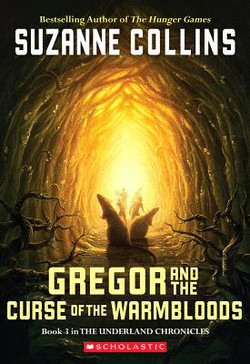 обложка книги Gregor and the Curse of the Warmbloods