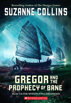 обложка книги Gregor and the Prophecy of Bane
