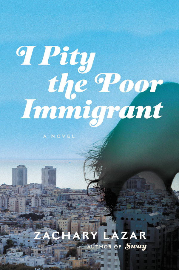 обложка книги I Pity the Poor Immigrant