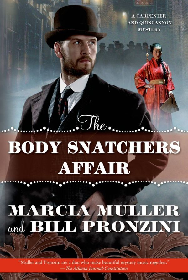 обложка книги The Body Snatchers Affair