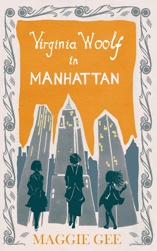 обложка книги Virginia Woolf in Manhattan